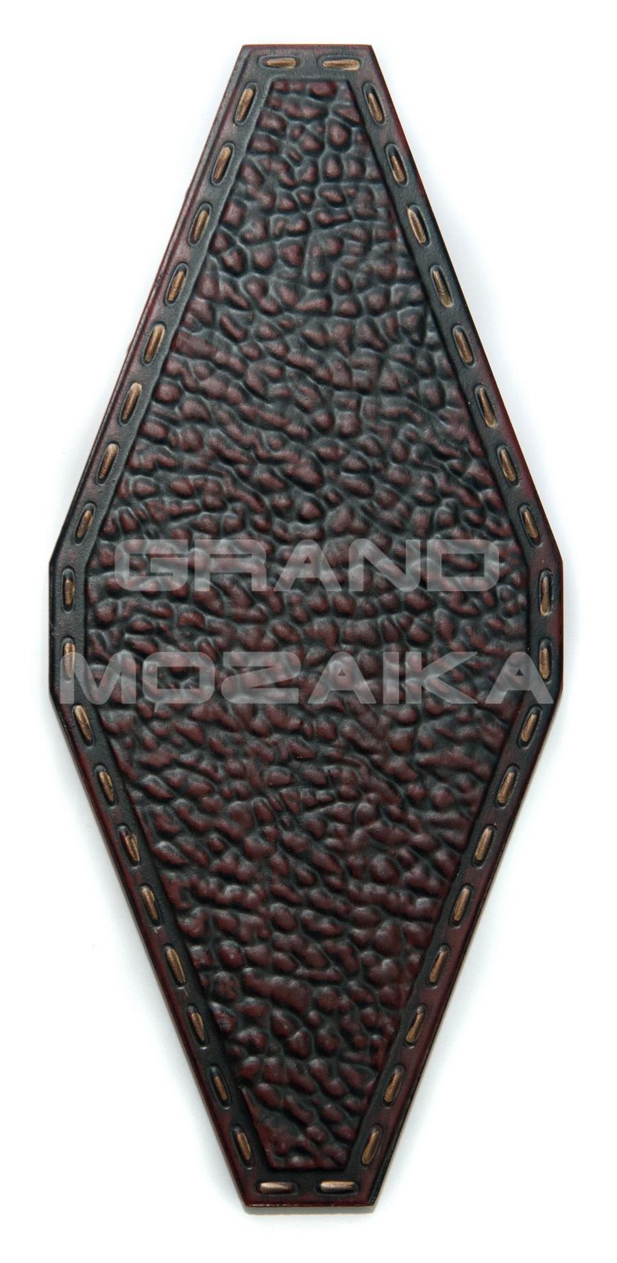Керамическая плитка с рисунком ромб